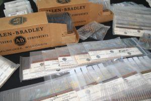 NOS Allen Bradley carbon comp resistors